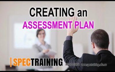Completing an Assessment plan © 2018 Spectraining Pty Ltd